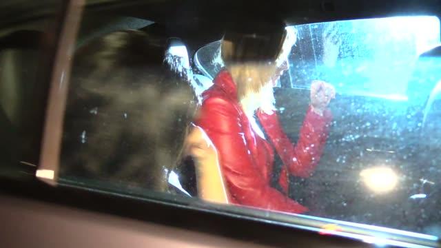Mischa Barton Courtenay Semel depart Chateau Marmont in Los Angeles in Celebrity Sightings in Los Angeles