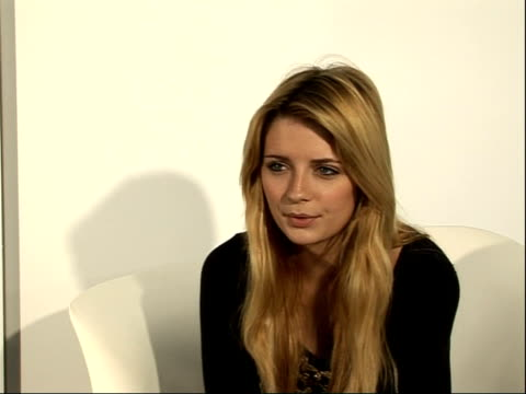 London INT Mischa Barton interview SOT On visit to Johannesburg with Save the Children Poverty in area/ amazing great experience getting to know...