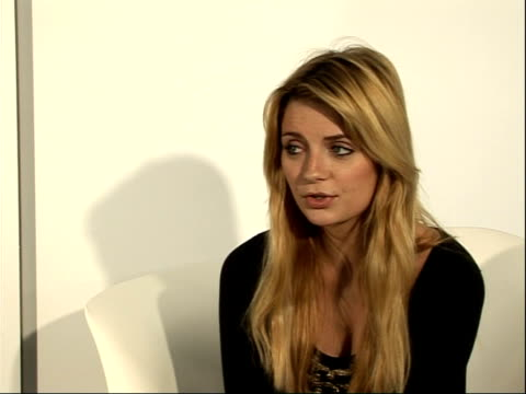 mischa barton interview; - on enjoying fashion week/ love london - get tired of frivilous press/ appetite for meaningless press - just enjoying being... - mischa barton stock videos & royalty-free footage