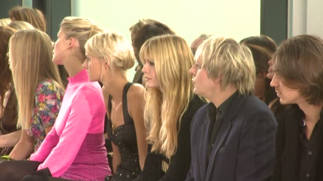 mischa barton nick rhodes at the london fashion week temperley london at london - nick rhodes stock videos & royalty-free footage