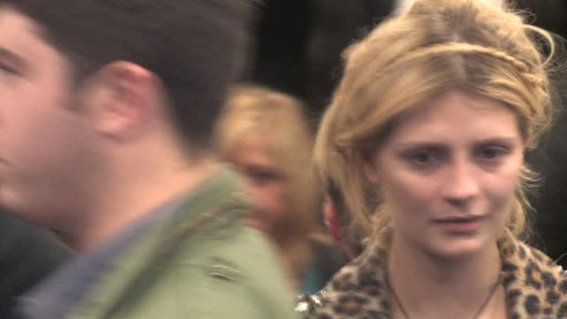 Mischa Barton outside The Music Box in Hollywood at the Celebrity Sightings in Los Angeles at Los Angeles CA