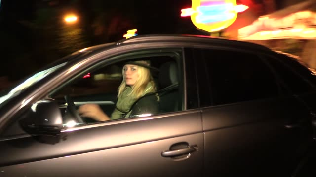 Mischa Barton slipping out of Chateau Marmont in Los Angeles in Celebrity Sightings in Los Angeles