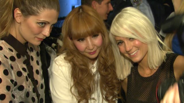 Mischa Barton Taylor Jacobson with Growze Fashion Designer at Growze LA Launch Party on 3/20/12 in Los Angeles CA