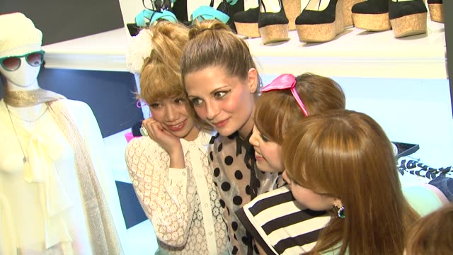 Mischa Barton with Models at Growze LA Launch Party on 3/20/12 in Los Angeles CA