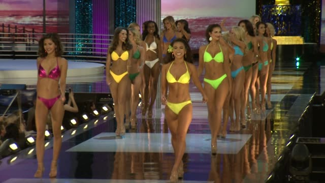 miss america preliminary competition footage on september 07 2017 in atlantic city new jersey - beauty contest stock videos & royalty-free footage