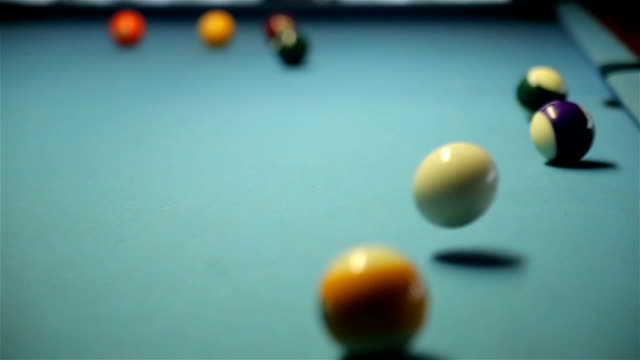 miss the hole, billiards - carrom stock videos & royalty-free footage