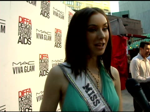 miss universe, natalie glebova on not gambling as miss universe, the end of her reign, her preparations for the next miss universe pageant and her... - retrovirus video stock e b–roll