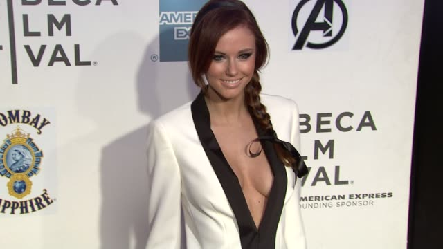 Miss USA Alyssa Campanella at 'Marvel's The Avengers' Premiere 2012 Tribeca Film Festival Closing Night on 4/28/2012 in New York NY United States