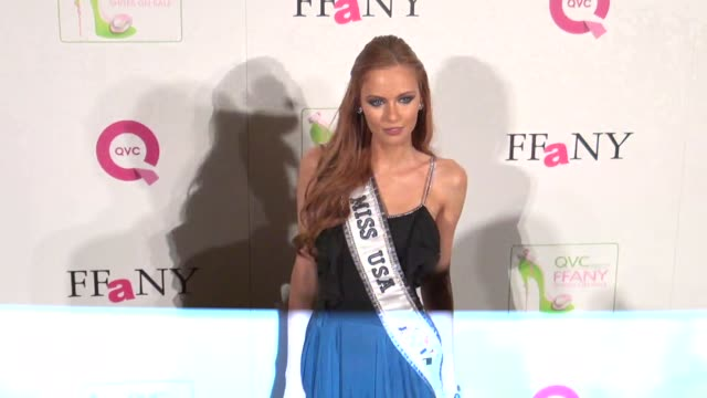 Miss USA Alyssa Campanella at the FFANY Shoes on Sale Gala in New York 10/13/11