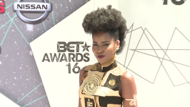 Miss Vee at 2016 BET Awards in Los Angeles CA