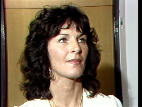 "miss world; london tower hotel julia morley sof: ""i think you're being -- and i'm very sorry"" eng allen 25secs tx'd:14.11.80/nat archive... - miss world pageant stock videos & royalty-free footage"