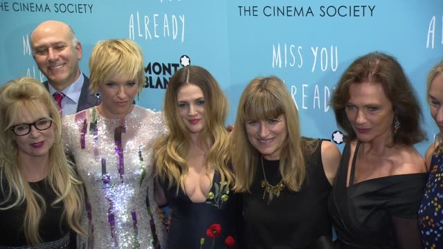 CLEAN 'Miss You Already' New York Premiere at Museum of Modern Art on October 25 2015 in New York City
