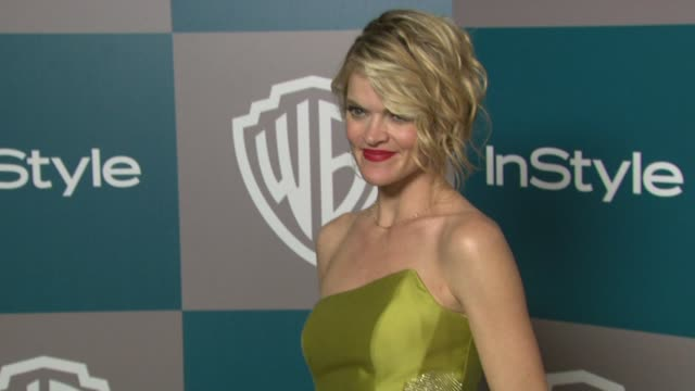 vídeos de stock, filmes e b-roll de missi pyle at the 13th annual warner bros and instyle golden globe afterparty in beverly hills ca on 1/15/12 - missi pyle