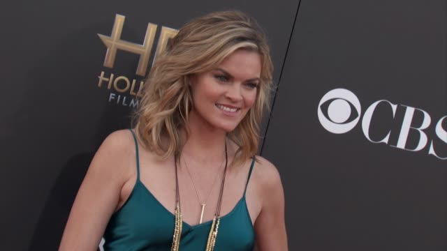 vídeos de stock, filmes e b-roll de missi pyle at the 2014 hollywood film awards in los angeles ca - missi pyle
