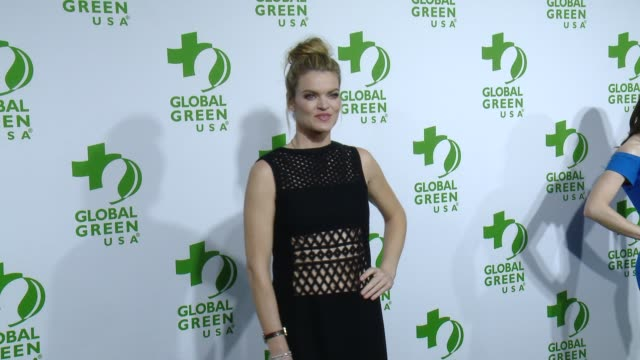 vídeos de stock, filmes e b-roll de missi pyle at the global green usa 12th annual preoscar® party avalon on february 18 2015 in hollywood california - missi pyle