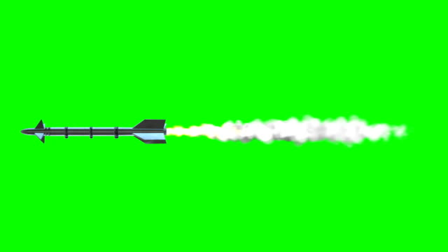 missile green-box (loopable) - missile stock videos & royalty-free footage