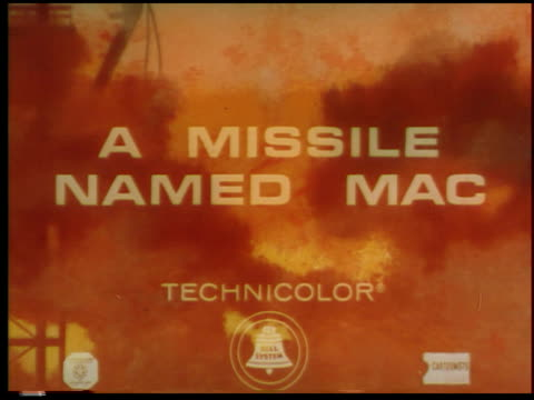 a missile named mac - 1 of 8 - see other clips from this shoot 2073 stock videos & royalty-free footage