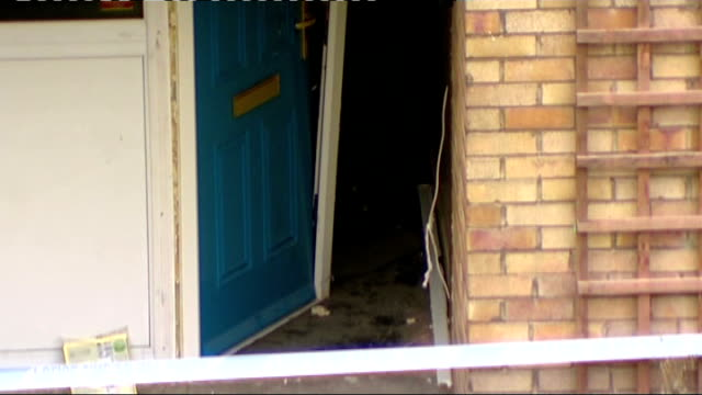 missing girl shannon matthews found alive entrance to house in lidgate gardens where shannon was found 'missing' poster in window of house pan to... - missing poster stock videos & royalty-free footage