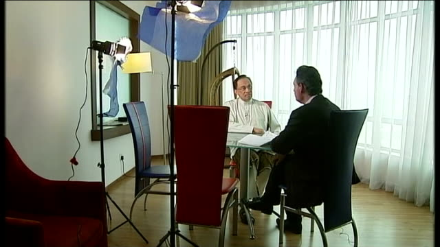 Search for debris continues MALAYSIA Kuala Lumpur Reporter to camera SOT INT Reporter sat with Anwar Ibrahim Ibrahim Reporter Anwar Ibrahim interview...