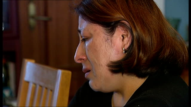 missing people launch text service for young homeless people; lidia guaranda crying as pleading for her daughter to come home sot - missing people stock videos & royalty-free footage