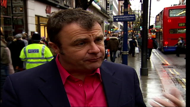 missing persons helpline launches campaign to recycle mobile phones paul ross interview sot must be so deperate to lose a family member - paul ross stock videos & royalty-free footage