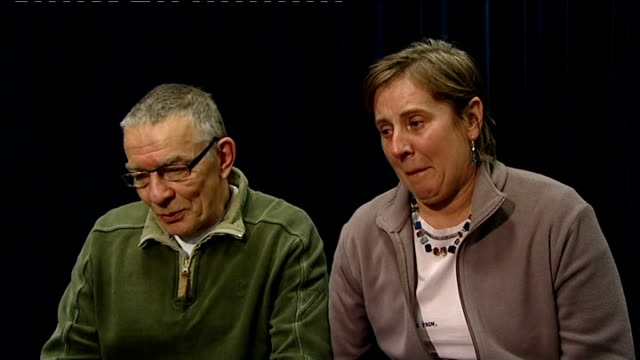 press conference with detective chief inspector and parents david yeates and teresa yeates press conference sot [david yeates] the papers used... - after life stock videos & royalty-free footage