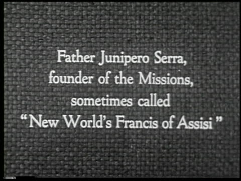 missions of california - 1 of 16 - missions of california film title stock videos & royalty-free footage