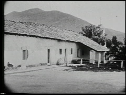 missions of california - 15 of 16 - missions of california film title stock videos & royalty-free footage