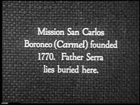 vidéos et rushes de missions of california - 2 of 16 - missions of california titre de film