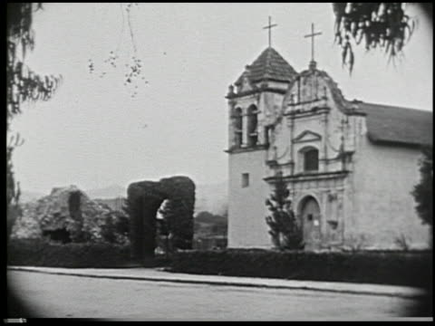 missions of california - 3 of 16 - missions of california film title stock videos & royalty-free footage