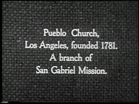 missions of california - 5 of 16 - missions of california film title stock videos & royalty-free footage