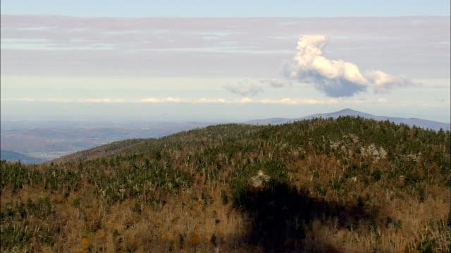 Missisquoi National Wildlife Refuge - vue aérienne - Vermont, comté de Franklin, États-Unis