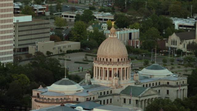 mississippi state capitol building - flagga bildbanksvideor och videomaterial från bakom kulisserna
