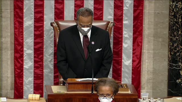 missouri congressman emanuel cleaver prays that noiselessly all bow before god's throne of grace leaving behind politically and socially clamorous... - dose stock videos & royalty-free footage