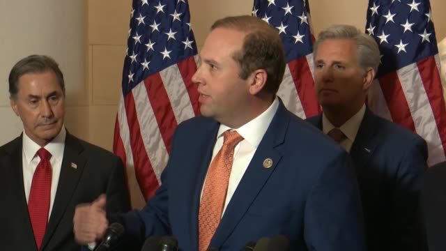 missouri congressman jason smith calls it a great honor to join republican leadership that the average age of house republicans was 52 years old but... - new age stock videos & royalty-free footage