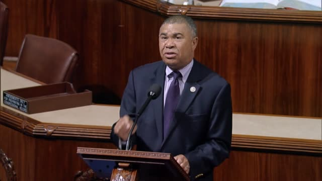 missouri congressman william lacy clay mourns the death of former constituent philando castile after video of a policeman killing him was seen by... - mord stock-videos und b-roll-filmmaterial