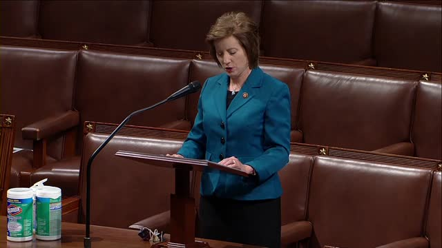 vídeos de stock e filmes b-roll de missouri congresswoman vicky hartzler says in debate opposing the more act to decriminalize and tax marijuana that the bill would open the floodgates... - paranoia