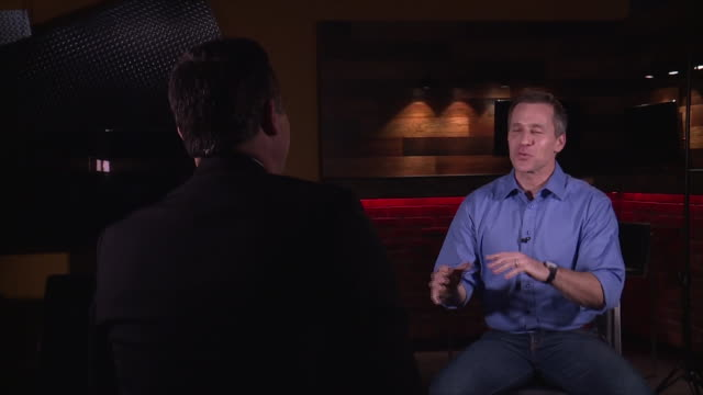missouri gov. eric greitens on why he doesn't wear a tie during interview. - governor stock videos & royalty-free footage