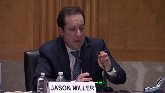 missouri senator josh hawley and office of management and budget deputy director nominee jason miller discussed the role of big tech companies and... - big tech stock videos & royalty-free footage