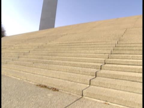 ms, tu, la, usa, missouri, st. louis, gateway arch - jefferson national expansion memorial park bildbanksvideor och videomaterial från bakom kulisserna