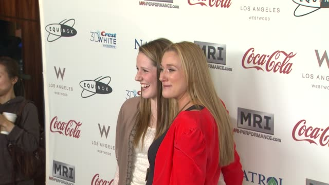 missy franklin kerri lee walsh jennings at cw3pr presents gold meets golden at equinox sports club hosted by nicole kidman 1/12/2013 in los angeles ca - kerri walsh jennings stock videos and b-roll footage