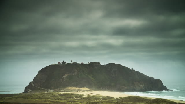 mist at point sur - timelapse - other stock videos & royalty-free footage
