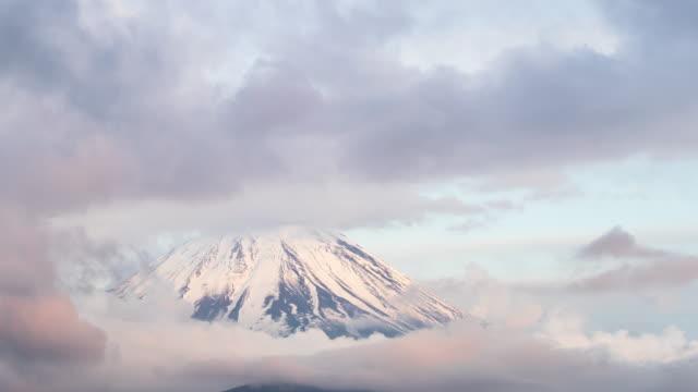 Nebel des Mount Fuji