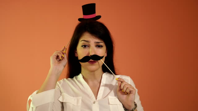 mister - moustache stock videos & royalty-free footage