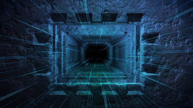mistery tunnel. - glowing doorway stock videos & royalty-free footage
