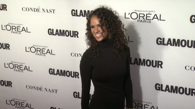 Misty Copeland at Glamour Magazine's 25th Annual Women Of The Year Awards at Carnegie Hall on November 09 2015 in New York City