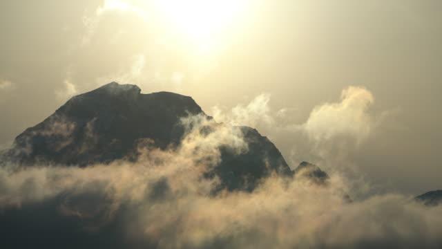 misty landscape in lofoten islands,norway. - dawn stock videos & royalty-free footage