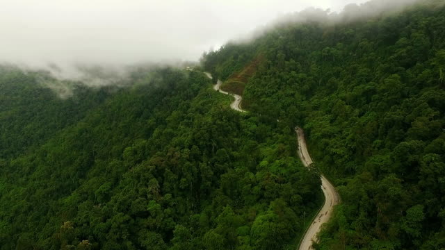 misty mountain road - monsoon stock videos and b-roll footage