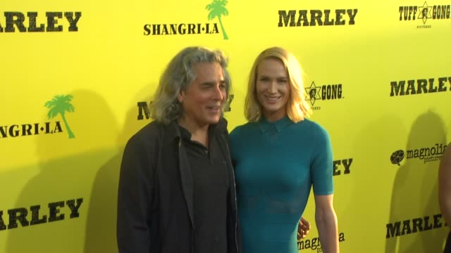 mitch glazer, kelly lynch at marley los angeles premiere on 4/17/12 in hollywood, ca. - kelly lynch stock videos & royalty-free footage