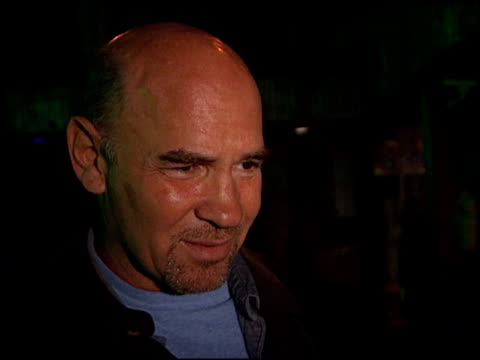 Mitch Pileggi at the XFiles Wrap Party at House of Blues in Los Angeles California on April 27 2002